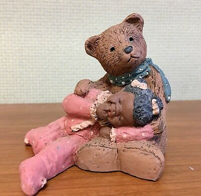 Miss Martha Holcombe Originals All God's Children Paddy Paw Bear & Lucy 1553