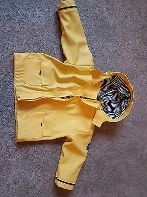 Jojo Maman Bebe yellow raincoat