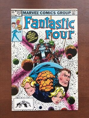 Fantastic Four #253 (1983) 8.0 VF Marvel Key Issue Comic Book Bronze Age