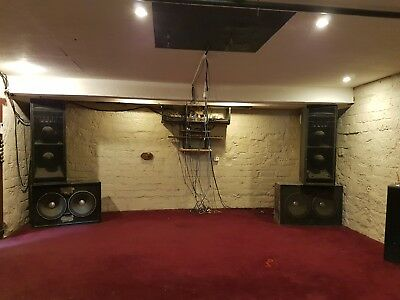 Meyer Sound System powered by Panasonic Ramsa and Acoustic tech amps