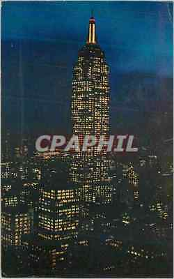 CPM Empire State Building at Night New York City