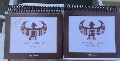 2 PHOENIX THEORY Books Lessons 1-32 Stenograph Court Reporter-Used