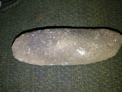 Ancient Relic Native Grinding Cutting Stone Axe Head Unique Nevada ?