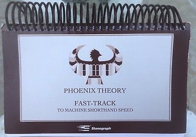 PHOENIX THEORY FAST-TRACK To MACHINE SHORTHAND SPEED Stenograph Court Reporter