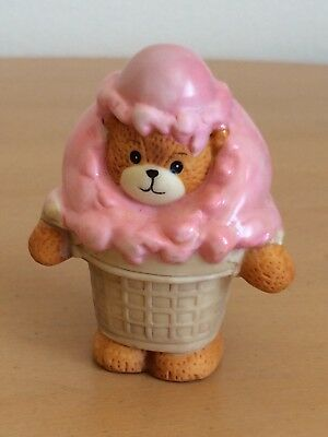 "Lucy Rigg~Lucy and Me Bear ""Strawberry Ice Cream Cone"""