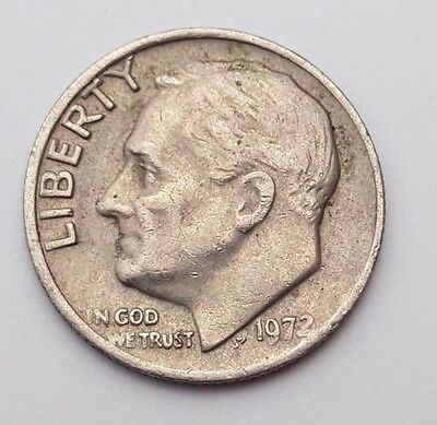 Dated : 1972 - USA - Roosevelt One Dime - Coin - United States of America