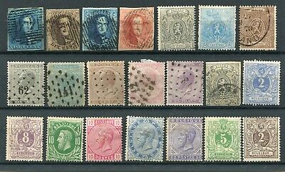 BELGIUM - Selection classics, 1MH + Mint no gum