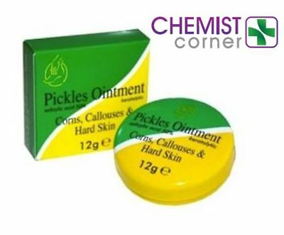 ⭐️Pickles Ointment - Traditonal Treatment for Corns, Callouses & Hard Skin 12g⭐️