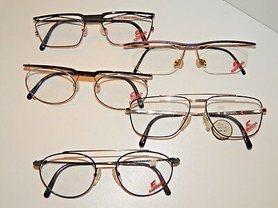 """""""carrera""""lot The 5 Vintage Frames.*never Used*old Stock*"""