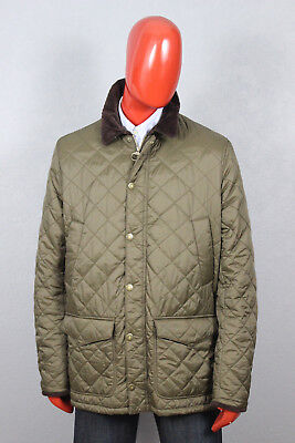 Mens Barbour Canterbury Quilt Jacket Green Size XL MQU0798OL71