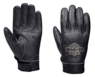 Harley-Davidson Men's Distressed Leather Full-Finger Gloves 98208-16VM (2 left)