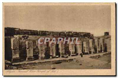 CPA Egypt Egypte Abydos General View Temple of Seti