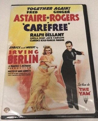 Fred Astaire & Ginger Rogers - Carefree (DVD) Sealed! Brand New