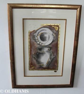 Kevin Blackham Mixed Media - Artist Signed - L'Urne Classique II