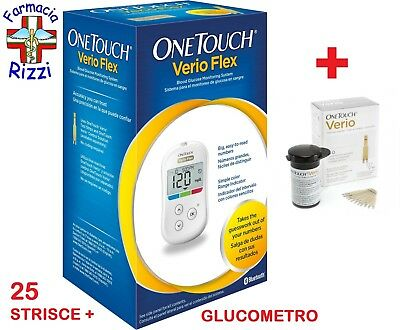 One Touch Verio Glucometro + 25 Strisce Verio