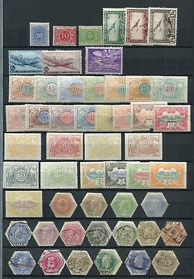 BELGIUM -  Collection BOB, MH, 2 mint no gum + 12 Cancelled