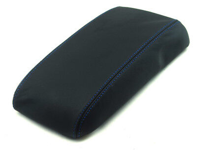 BLACK STITCH REAL LEATHER ARMREST COVER FOR CHEVROLET CAMARO FIREBIRD 1997-2003
