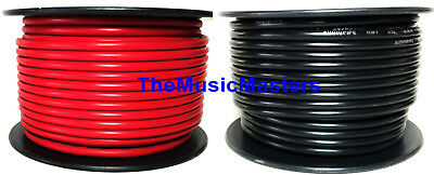 12 Gauge 100' ft each Red Black Auto PRIMARY WIRE 12V Wiring Car Power Cable