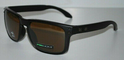 908cec7bb8 Oakley Holbrook Sunglasses OO9102-D755 Matte Black Prizm Tungsten Polarized  NEW