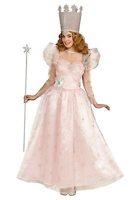 WIZARD OF OZ GLINDA GOOD WITCH COSTUME SIZE STANDARD (with defect)