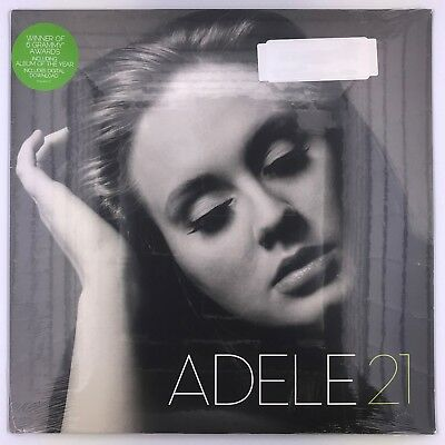 ADELE 21 LP VINYL Set Fire To The Rain - Rolling in the Deep - Rumour Has It NEW