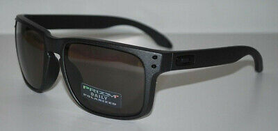 68d4d604a4 OAKLEY HOLBROOK SUNGLASSES OO9102-B5 Steel Prizm Daily Polarized NEW ...