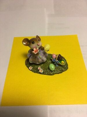 """Wee Forest Folk """"Poppy's Easter"""" M-321a"""
