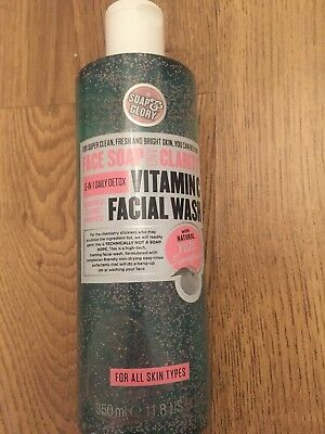 Soap and Glory vitamin c face wash 350ml