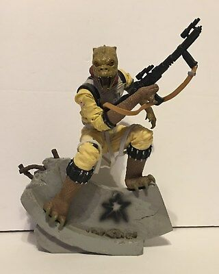Hasbro Star Wars Unleashed Bossk Statue Used