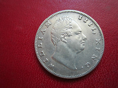 India 1 Rupee  British 1835  William Iiii Nice East India Company