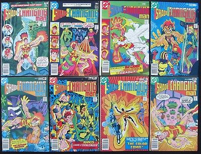 SHADE THE CHANGING MAN 1 2 3 4 5 6 7 8 Complete (Marvel 1977-78) - 8.5 VF+