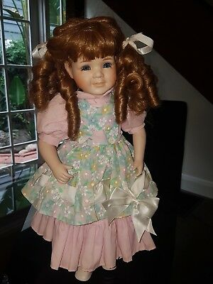 HILLVIEW LANE Limited Edition porcelain doll