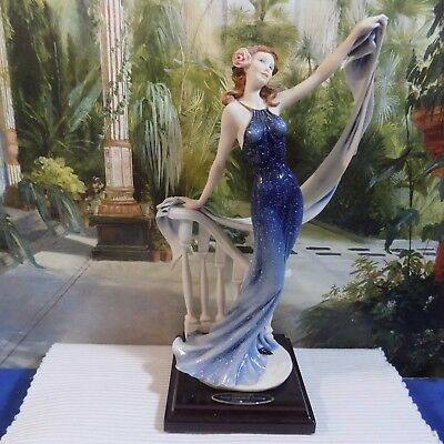 "SIGNED GIUSEPPE ARMANI ""SOME ENCHANTED EVENING"" FIGURINE # 26 Of 3000  EXCELLENT"