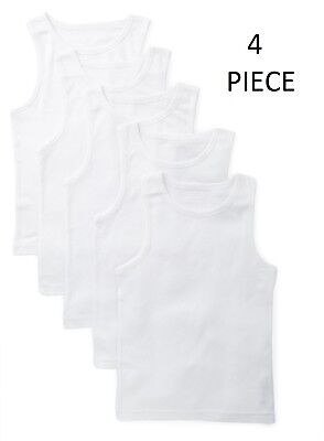 4X SOFTY® Kids Children Vest 100% Cotton thermal Sleeveless Tank School Wear top