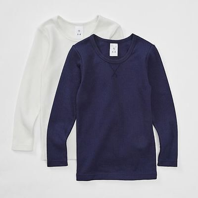 NEW 2 Pack Thermal Tops Kids