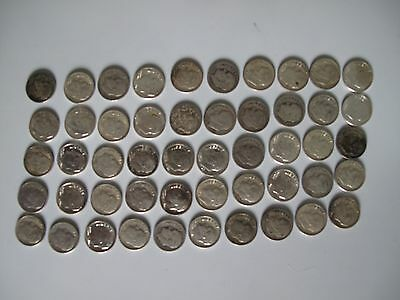 one roll of roosevelt silver dimes mixed date