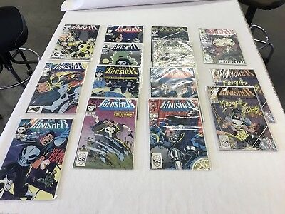 MINT!!! (29) Marvel Punisher and Punisher War Journal Comic book lot Copper age!