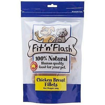 Fit'N'Flash Chicken Breast Fillet Treats - 50g