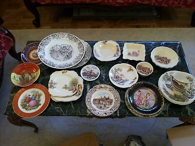 Assorted collectable plates