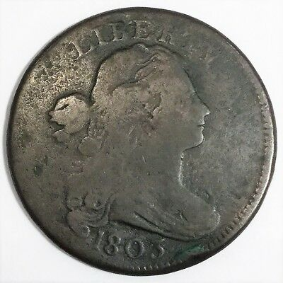 1803 Draped Bust Large Cent Beautiful Coin Rare Date