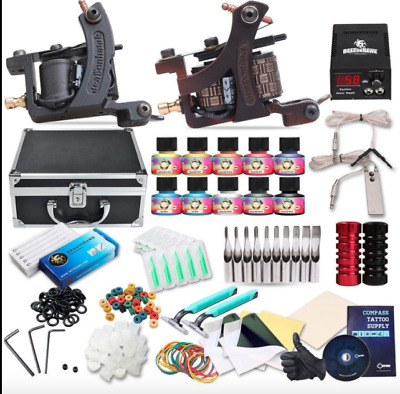 Traditional Tattoo Machine For Women Professional Mens Starter Kit NEW