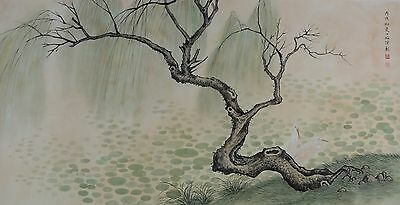 Excellent Chinese Scroll Painting  By Chen ShaoMei P004 陈少梅