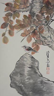 Excellent Chinese Scroll Painting   By Chen Peiqiu P707 陈佩秋