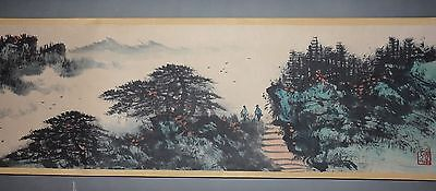 Excellent Chinese Scroll Painting  By Li Xiongcai P56 黎雄才