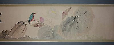 Excellent Chinese Scroll Painting By  Jiang Handing P28 江寒仃
