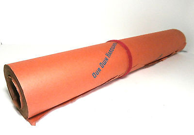 """Vintage Roll of Old General Store Packaging Paper """"Our Own Hardware"""" Wrap Paper"""