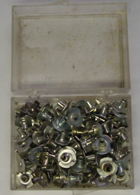 (76) 6-32 Plated Tee Nuts by Dave Grattan and Sons, Inc.