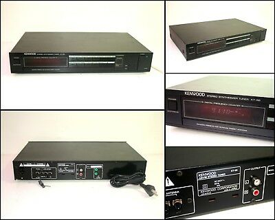 KENWOOD KT-56 Stereo Synthesizer AM FM Tuner