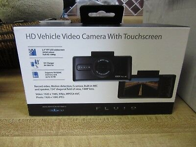 Fluid HD Vehicle Video Camera With Touchscreen Looks New
