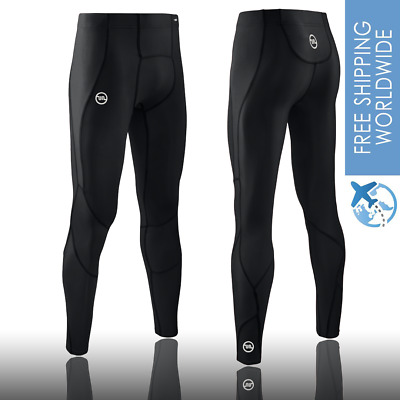 Mens Gym Sports Compression Tights Viva Athletic Running Pants Athletic Apparel